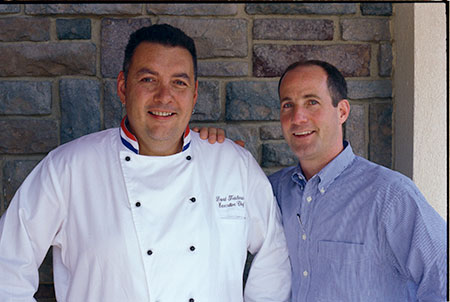 Jim Lederer and Chef Dave Teichman